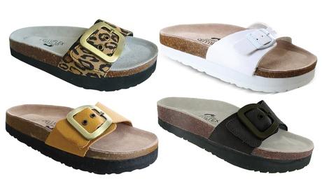 Sandales minceur et confort CELLUFLEX - modèle ATLAS