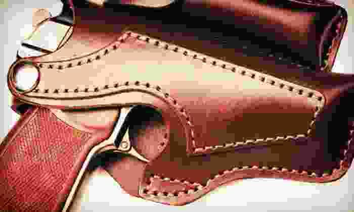 Elite Handgun Academy - North Dallas: 10-Hour Texas Concealed-Handgun License Course for One or Two at Elite Handgun Academy (Up to 58% Off)