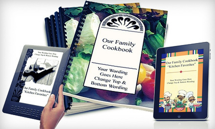 cookbook making software the great family cookbook project groupon