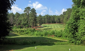 Longleaf Golf & Family Club: 18 Holes of Golf, Cart Rental, and Range Balls for Two or Four at Longleaf Golf & Family Club  (Up to 59% Off)
