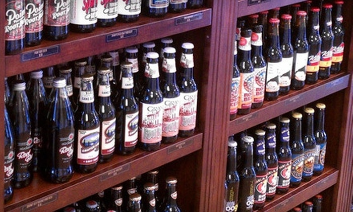 The Root Beer Store - Multiple Locations: Gourmet Root-Beer Package with Five or Eight Bottles of Root Beer or Other Soda from The Root Beer Store (Up to 55% Off)