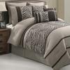 Laken Zebra 8-Piece Comforter Set