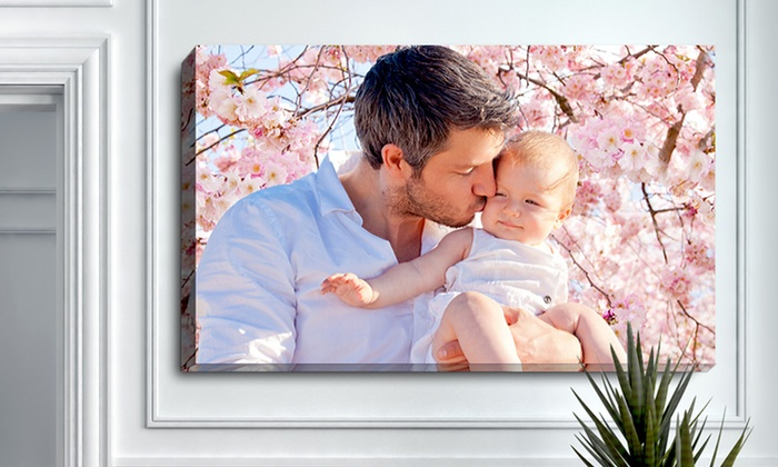 Personalized Photo Canvas from PrinterPix: Custom Photo Canvas from PrinterPix. Multiple Sizes Available.