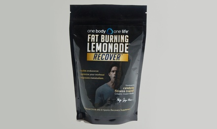 33-Serving Container of Fat-Burning Lemonade Recover Sports Drink with Self-Improvement E-Book