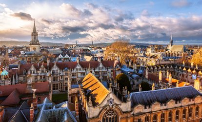 image for Oxford Historical Tour: 75-Minute Walk For One, Two or Family of Four from £6 (Up to 42% Off)