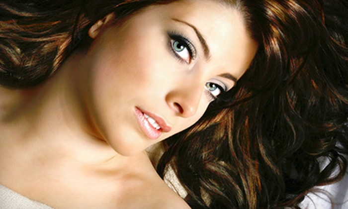 Oasis Salon and Spa - Sparta: Haircut and Conditioner with Option of Color or Partial or Full Highlights at Oasis Salon and Spa (Up to 63% Off)