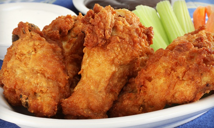 Philly T's - Palos Hills: Wings or Appetizers and Beer for Two, Four, or Six at Philly T's (Up to 53% Off)