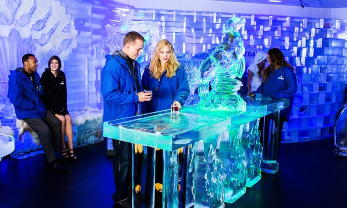 ICEBAR - Southwest Orange: Arctic-Themed Bar Night for One, Two, or Four at Icebar (50% Off)