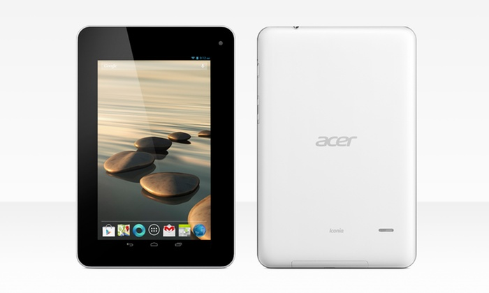 "Acer Iconia 7"" Android Tablet (B1-710-L401): Acer Iconia 7"" 8GB Android 4.1 Tablet (B1-710-L401) (Manufacturer Refurbished). Free Shipping and Returns."