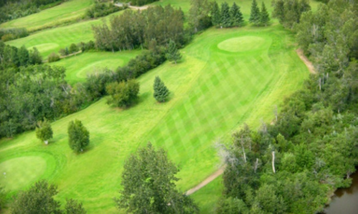 Kachur's Golf Club - Prince Albert: $129.99 for 18-Hole Round of Golf for Four with Cart and Munchie Platter at Kachur's Golf Club (Up to $270 Value)