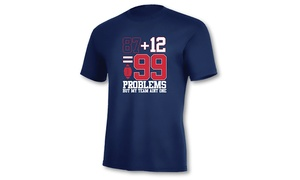 Ink'd: $13.99 for 87+12 Patriots Short-Sleeve T-Shirt in Navy for In-Store Pickup at Ink'd ($24.99 Value)