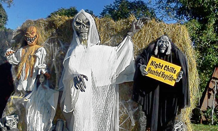 Winding Brook Farm - Warrington: Night Chills Haunted Hayride for Two at Winding Brook Farm (Up to Half Off). Two Options Available.
