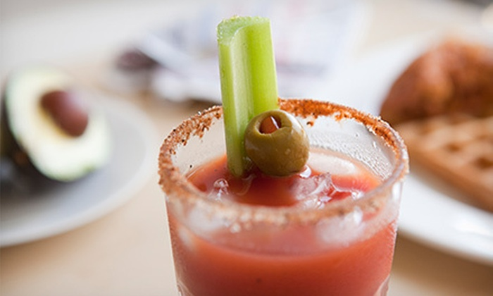The Riverwest Filling Station - Riverwest: Brunch with Bloody Marys for Two or Four at The Riverwest Filling Station (Up to 56% Off)