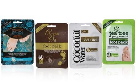 3, 4 u 8 packs de mascarillas hidratantes disponibles en 4 fórmulas de mezclas exclusivas para hidratar y suavizar