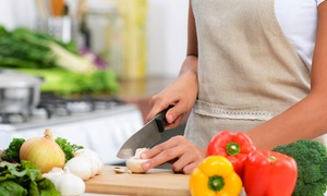 Cooking 4 Life: One Two-Hour Cooking Class for 1 or 2 or Team-Building Cooking Class for 10 at Cooking 4 Life (Up to 50% Off)