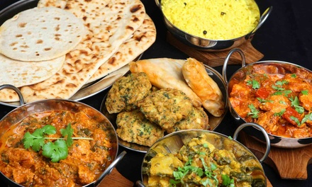 Indian Meal for Two or Four with Appetizers, Entrees, and Desserts at Deep Indian Restaurant (Up to 58% Off)