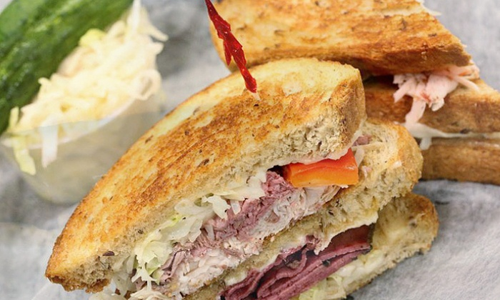 Pastrami on Wry - Manchester: $27 for Three Groupons, Each Good for $15 Worth of Food and Drink at Pastrami on Wry ($45 Value)
