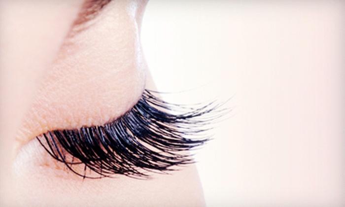 Abaka Salon - Miami: Full Set of Eyelash Extensions with Optional Refill at Abaka Salon (Up to 68% Off)
