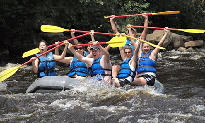 Whitewater Challengers - Weatherly: Camping for Up to Four or Two-Day Camping Adventure for Two at Whitewater Challengers in Weatherly (Up to 63% Off)