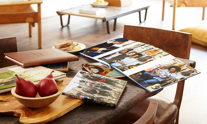 AdoramaPix: Custom 20-Page Lay-Flat Photo Book from AdoramaPix (Up to 53% Off). Two Options Available