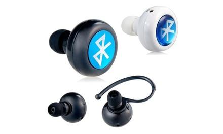 Mini oreillettes Bluetooth – Discrètes – Autonomie jusqu'à 5h en communication