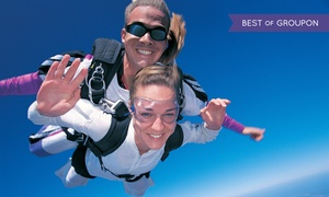 Skydive Atlas: $165 for Tandem Skydive Jump at Skydive Atlas ($235 Value)