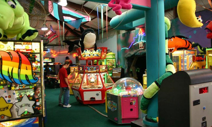 Tee Time Family Fun Center - Mehlville: Fun-Center Package for Two or Four or Birthday Party for Eight at Tee Time Family Fun Center (Up to 54% Off)