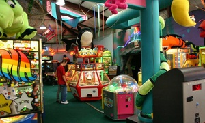 Tee Time Family Fun Center: Fun-Center Package for Two or Four, or Party for Up to Eight at Tee Time Family Fun Center (Up to 51% Off)