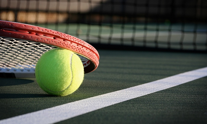 Slammin' & Jammin' Charity Tennis Showdown - Sunset Hill West: $25 for Two Tickets to the Slammin' & Jammin' Charity Tennis Showdown on Saturday, May 17 ($50 Value)