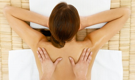 $82 for Deep-Tissue or Swedish Massage with Aromatherapy and Foot-Scrub Therapy at Anne Nepo Wellness Spa ($159 Value)