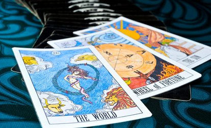 image for $25 for $50 Worth of Services — palm & tarot card reader
