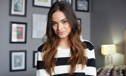image for Haircut with Wash, Style, Blow-Dry, and Optional Highlights or Color Touch-Up at ZLuna Salon (Up to 53% Off)
