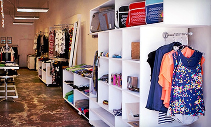HANGR 16 - Mission Dolores: Two Headline T-Shirts, or $75 for $150 Worth of Designer Clothing and Accessories at HANGR 16