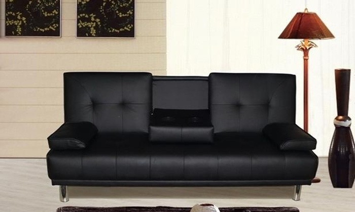 Cinema sofa bed 65 off groupon goods for Sofa bed groupon