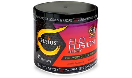 Celsius Flo Fusion Pre-Workout Formula (40 Servings)