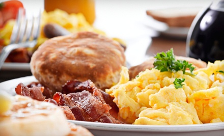 $10 for $20 Worth of American Breakfast or Lunch Food, Valid Monday–Friday or Saturday–Sunday at Heartland Cafe