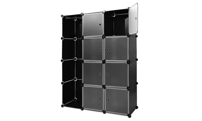steckregal aus kunststoff boxen groupon goods. Black Bedroom Furniture Sets. Home Design Ideas