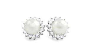 15mm Freshwater Pearl Stud Earrings