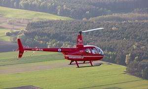 Helicenter: Lot widokowy helikopterem (od 259 zł) lub lot zapoznawczy z przejęciem sterów i więcej (1499 zł) w Helicenter