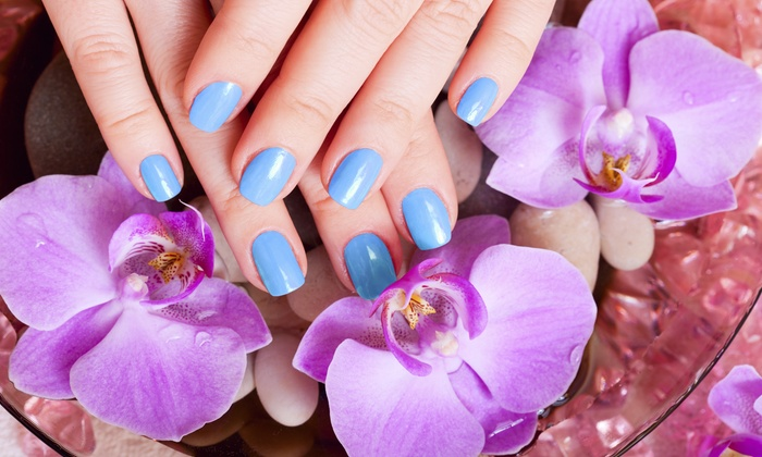 Totally Polished Nail Studio - West Columbia: No-Chip Manicure and Pedicure Package from Totally polished nail studio (50% Off)