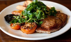 The White Lion Great Longstone: Two-Course Steak Meal for Two or Four at The White Lion, Great Longstone (Up to 46% Off)