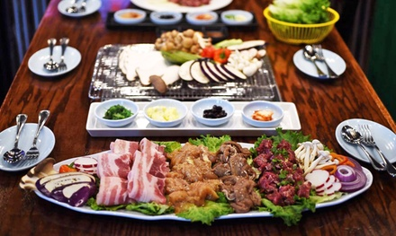 Korean Barbecue at Kangnam BBQ Sports Bar & Grill (Up to 50% Off)