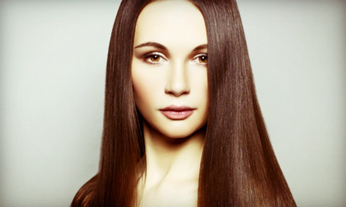 Stagecraft LLC - Tarpon Springs: Haircut, Conditioning, and Blow-Dry with Option for Partial or Full Highlights at Stagecraft LLC (Up to 64% Off)