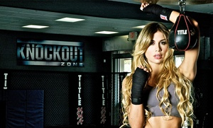 KO Zone: One or Three Months of Martial-Arts or Fitness Classes at KO Zone (Up to 75% Off)