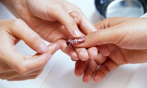Dixie Darlin' Nails: Two Manicures with Nail Designs from Dixie Darlin' Nails (50% Off)
