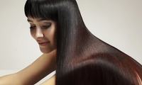 Keratin Hair Treatment with Optional Haircut and Eyebrow Threading, Plus Colour at Bella Rosa
