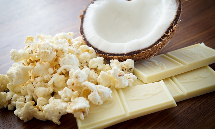 Popped - Multiple Locations: $24 for a One-Gallon Tin of Gourmet Popcorn with One Refill at Popped ($38 Value)