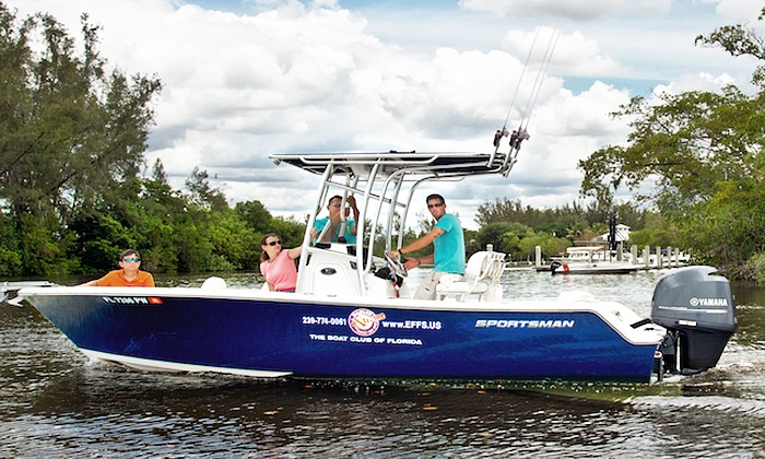 Naples Extreme Family Fun Spot - Naples Extreme Family Fun Spot: Half- or Full-Day Private Extreme Fishing Charter for Up to Four from Naples Extreme Family Fun Spot (Up to 42% Off)