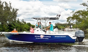 Naples Extreme Family Fun Spot: Half- or Full-Day Private Extreme Fishing Charter for Up to Four from Naples Extreme Family Fun Spot (Up to 39% Off)