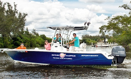 Half- or Full-Day Private Extreme Fishing Charter for Up to Four from Naples Extreme Family Fun Spot (Up to 39% Off)